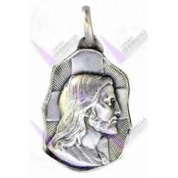 Medalla Plata 18mm San Judas Tadeo