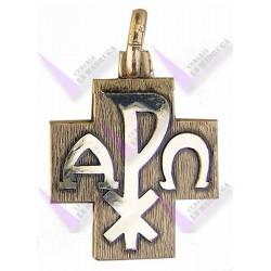 Medalla Plata Rectangular 27x19mm San Antonio De Padua