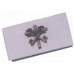 Caja Llave Sagrario Metal Plateada