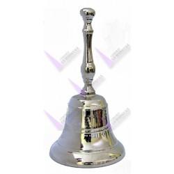 Campana Bronce 6 cm Niquelada